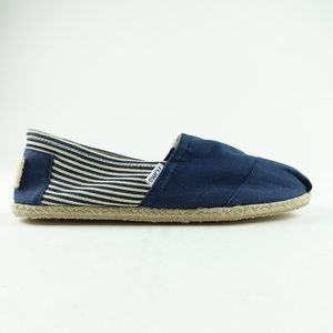 TOMS Men University Navy Classic Slip-On R12S6